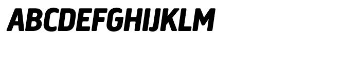 Creighton Extra Bold Italic Font UPPERCASE