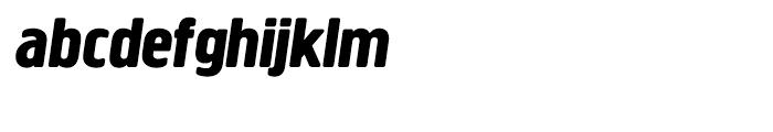 Creighton Extra Bold Italic Font LOWERCASE