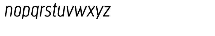 Creighton Light Italic Font LOWERCASE