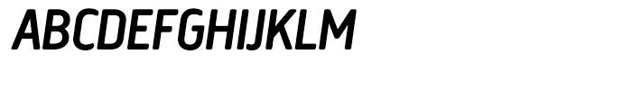 Creighton Medium Italic Font UPPERCASE