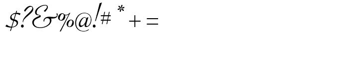 Crestwood Regular Font OTHER CHARS