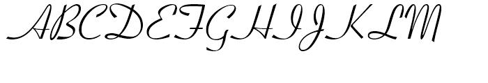 Crestwood Regular Font UPPERCASE