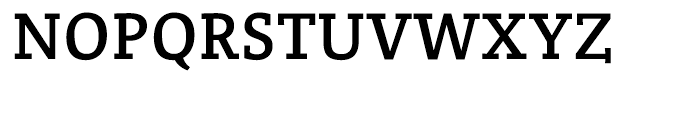 Crete Thick Font UPPERCASE