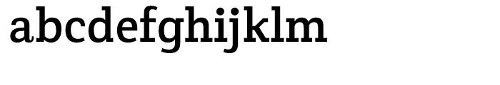 Crete Thick Font LOWERCASE