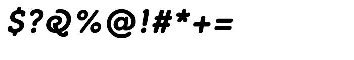 Croog Bold Italic Font OTHER CHARS