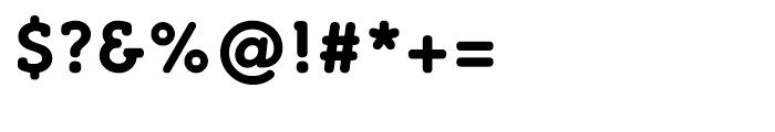 Croog Bold Font OTHER CHARS