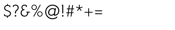 Croog Light Font OTHER CHARS