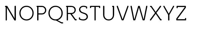 Croog Light Font UPPERCASE