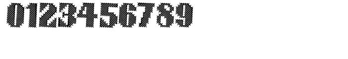 Cross Stitch BRAZEN Font OTHER CHARS