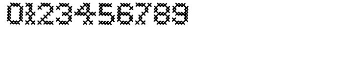 Cross Stitch Basic Font OTHER CHARS