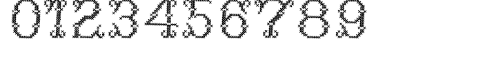 Cross Stitch DELICATE Font OTHER CHARS