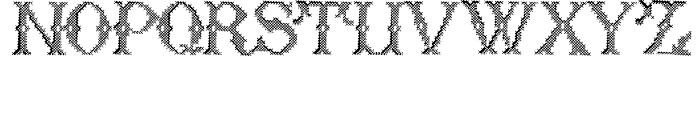 Cross Stitch Formal Font LOWERCASE