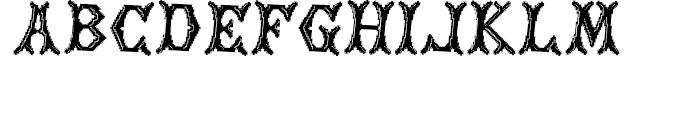 Cross Stitch NOBLE Font UPPERCASE