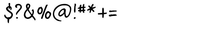 CrosswordBelle Regular Font OTHER CHARS