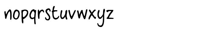 CrosswordBelle Regular Font LOWERCASE