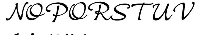Crostini Regular Font UPPERCASE