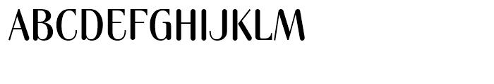 Cruz Cantera BT Medium Font UPPERCASE