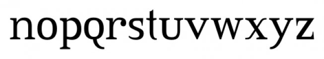 Credit Valley Font LOWERCASE