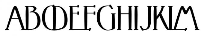 Crewekerne Magister Bold Font UPPERCASE