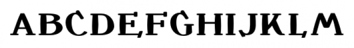 Crewekerne Magister Bold Font LOWERCASE