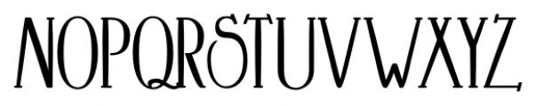 Crewekerne Magna Condensed Bold Font UPPERCASE
