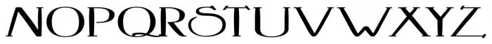 Crewekerne Magna Expanded Bold Font UPPERCASE
