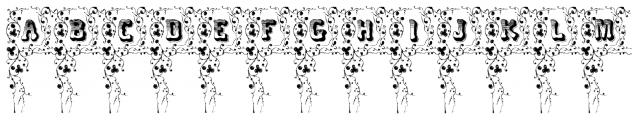 Cripto Font Ornamental Font UPPERCASE