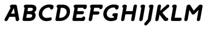 Croog Bold Italic Font UPPERCASE
