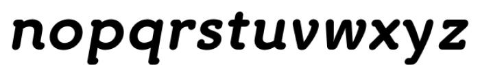 Croog Bold Italic Font LOWERCASE