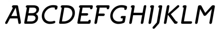 Croog Italic Font UPPERCASE