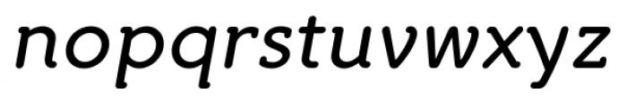 Croog Italic Font LOWERCASE