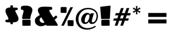 Crossharbour Regular Font OTHER CHARS