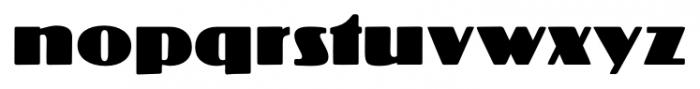 Crossharbour Regular Font LOWERCASE