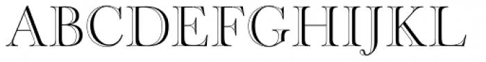 Cradley Open Font UPPERCASE