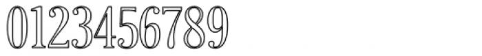 Craftsman Outline Font OTHER CHARS