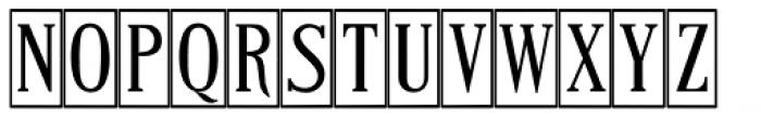 Craftsman Regular Font UPPERCASE