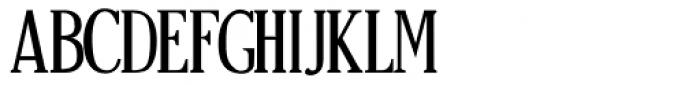 Craftsman Regular Font LOWERCASE