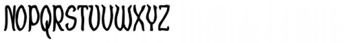 Craggy Bold Font UPPERCASE