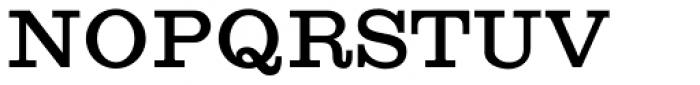 Craw Clarendon Bold Font UPPERCASE