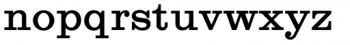 Craw Clarendon Bold Font LOWERCASE