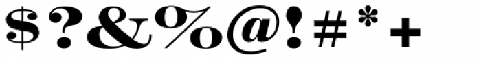 Craw Modern Bold Font OTHER CHARS