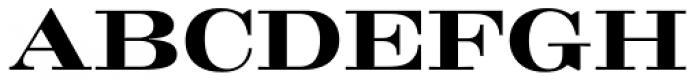 Craw Modern Bold Font UPPERCASE