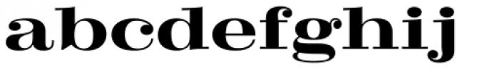 Craw Modern Bold Font LOWERCASE