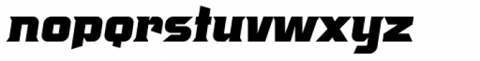 Crayfish AS Titan Bold Obl Font LOWERCASE