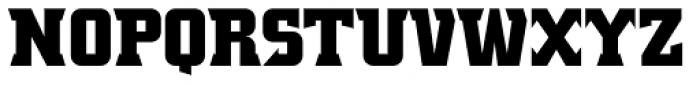Crayfish AS Titan Bold Font UPPERCASE