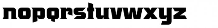 Crayfish AS Titan Bold Font LOWERCASE