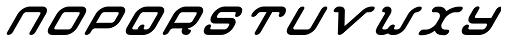 Crealab Black Italic Font UPPERCASE