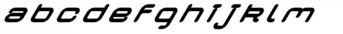 Crealab Black Italic Font LOWERCASE