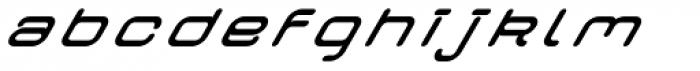 Crealab Bold Italic Font LOWERCASE