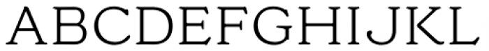Cream Light Font UPPERCASE
